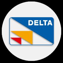 delta casino payment logo
