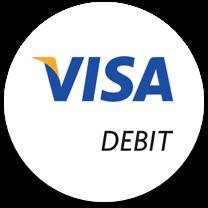 visa debit casino payment logo