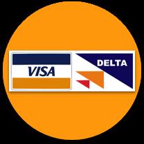 visa delta casino payment logo