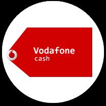vodafon cash card casino payment logo