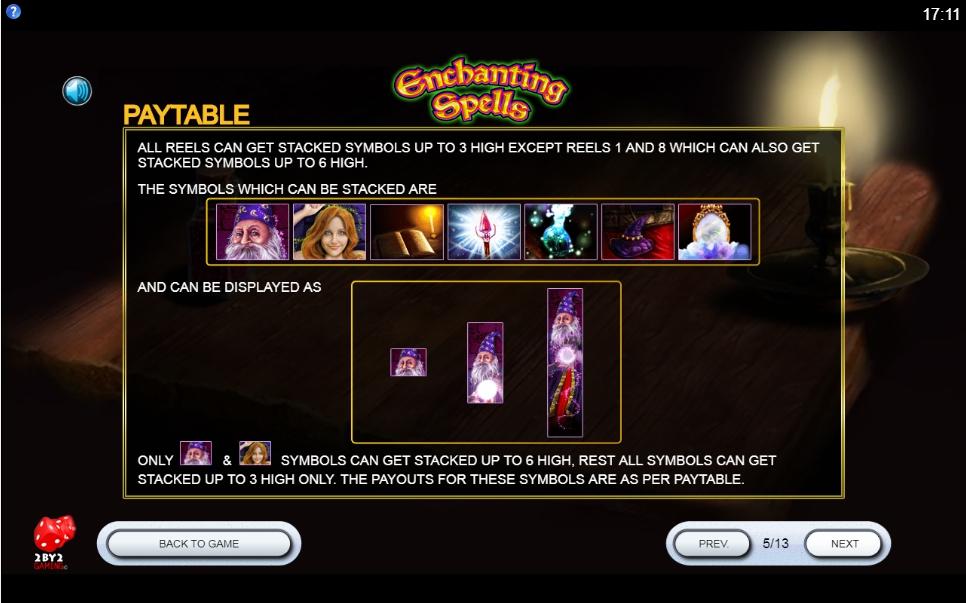 Enchanting Spells Slot Machine