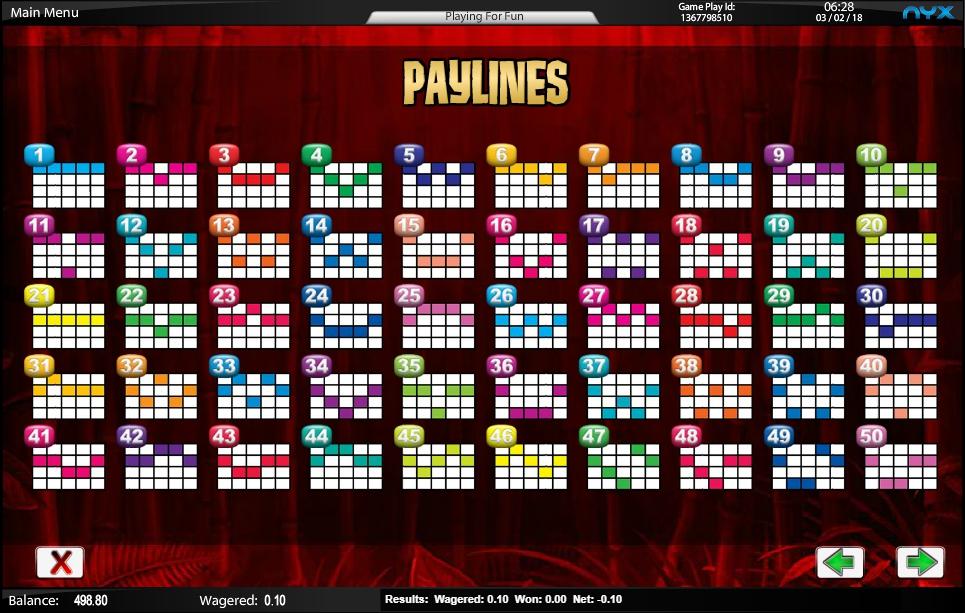 wild panda slot machine detail image 3