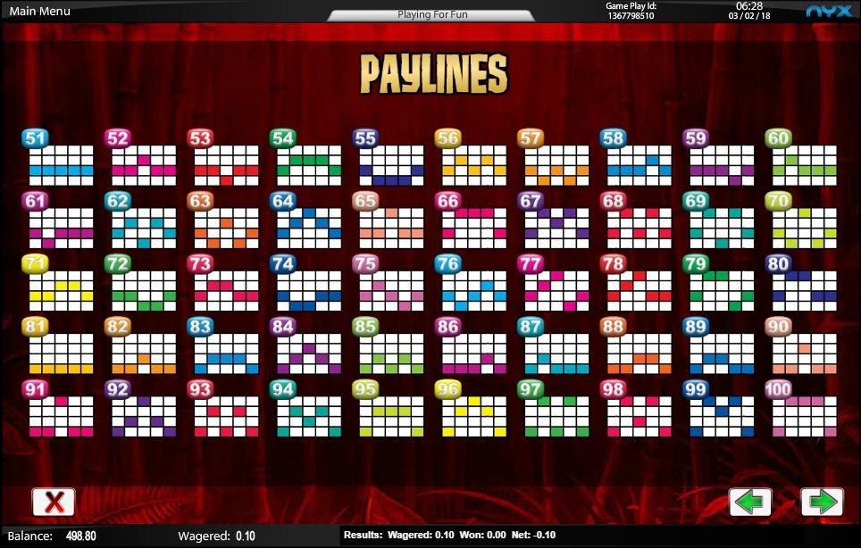 wild panda slot machine detail image 2