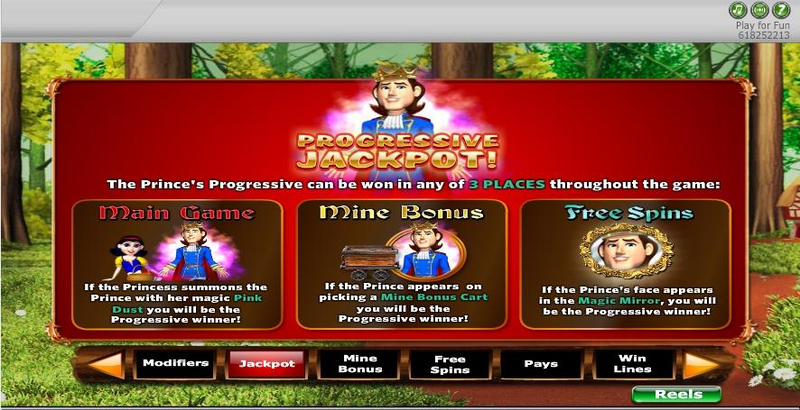 fairest of them all slot machine detail image 4