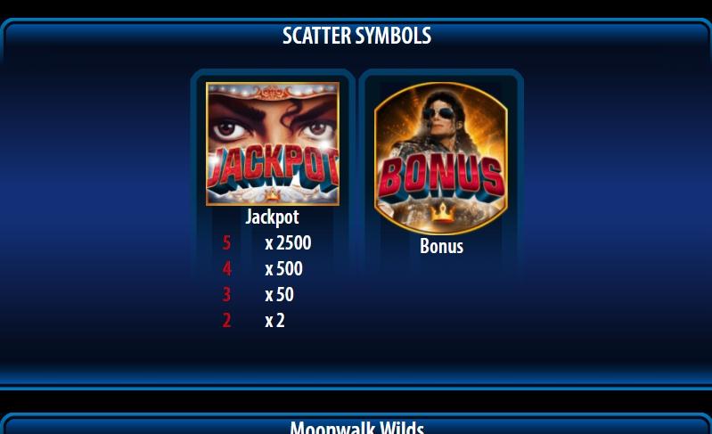 michael jackson king of pop slot machine detail image 6