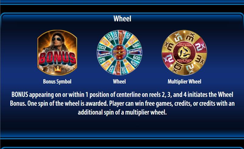 michael jackson king of pop slot machine detail image 3