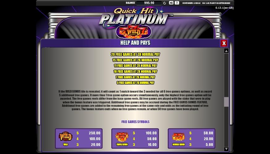 Free 20p roulette demo