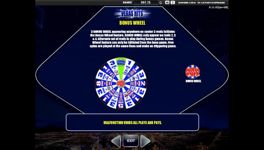 vegas hits slot machine detail image 7
