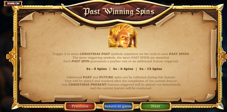 a christmas carol slot machine detail image 4