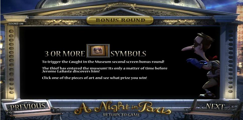 a night in paris jackpot slot slot machine detail image 0