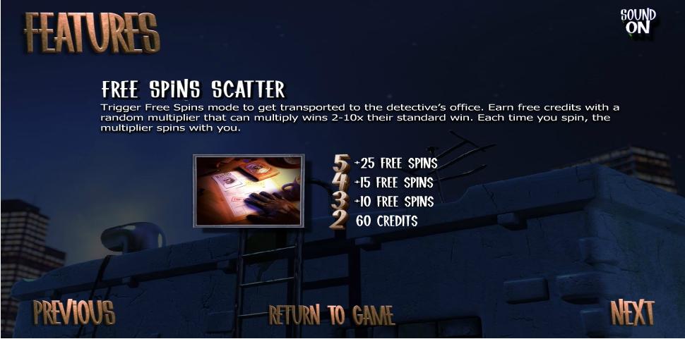 after night falls slot machine detail image 3