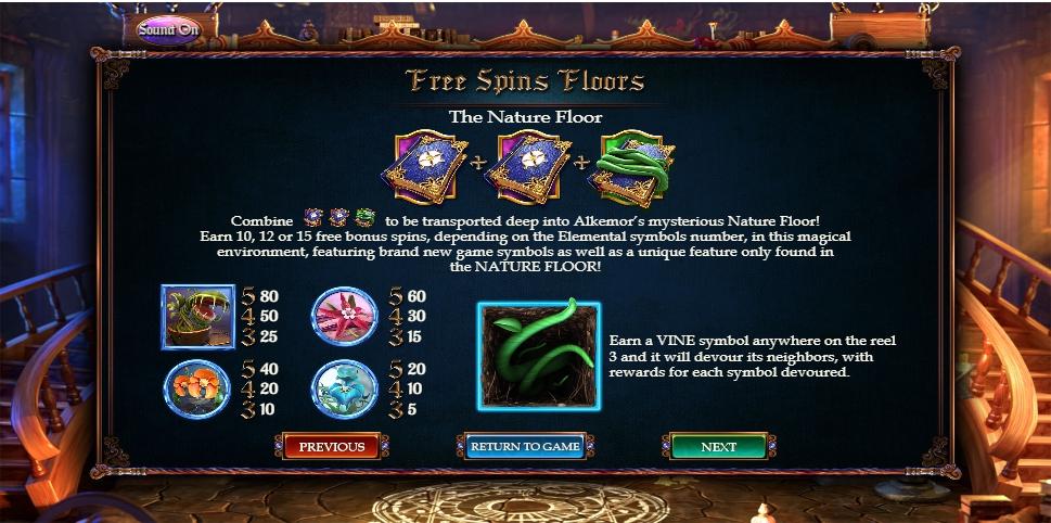 Alkemors Tower Slot Machine