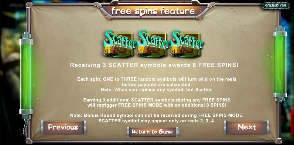 Frankenslots Monster Slot Machine No Download