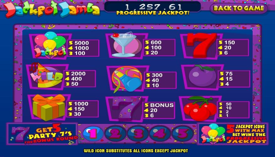 Huff and puff slot machine