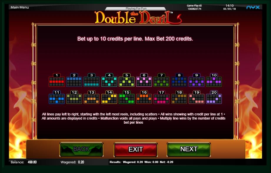 Double Devil Slots