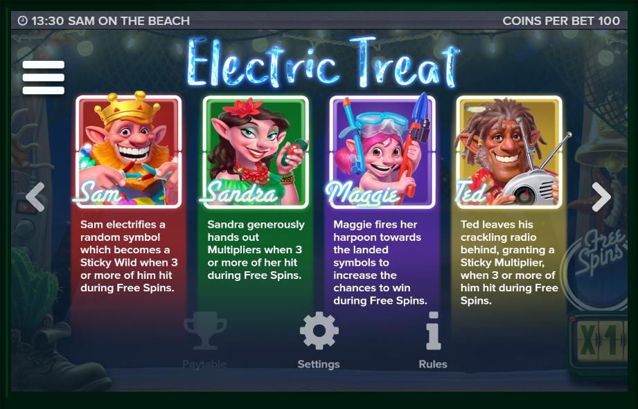 sam on the beach slot machine detail image 7