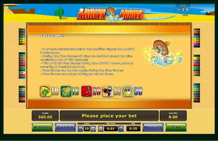 Arriva Arriva Slot Machine Online