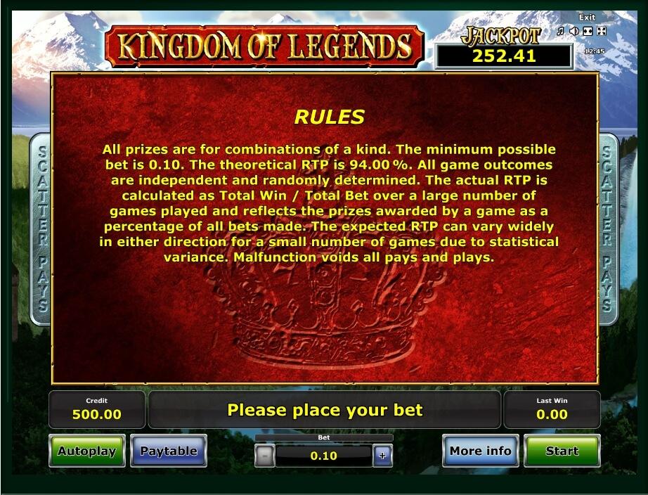 No Download Legend Lore Slots