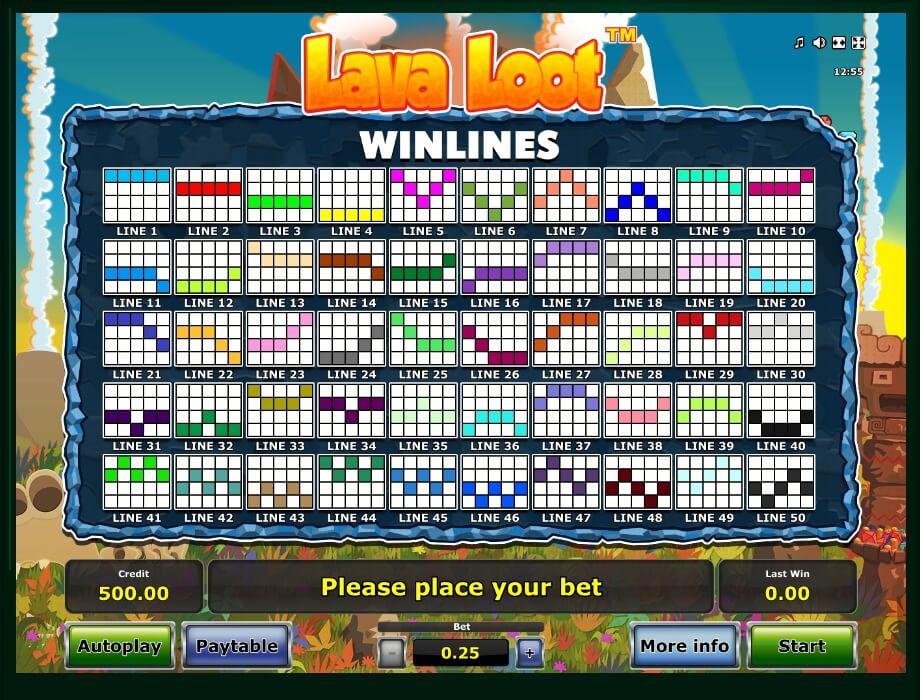Lava Loot Slot Machine