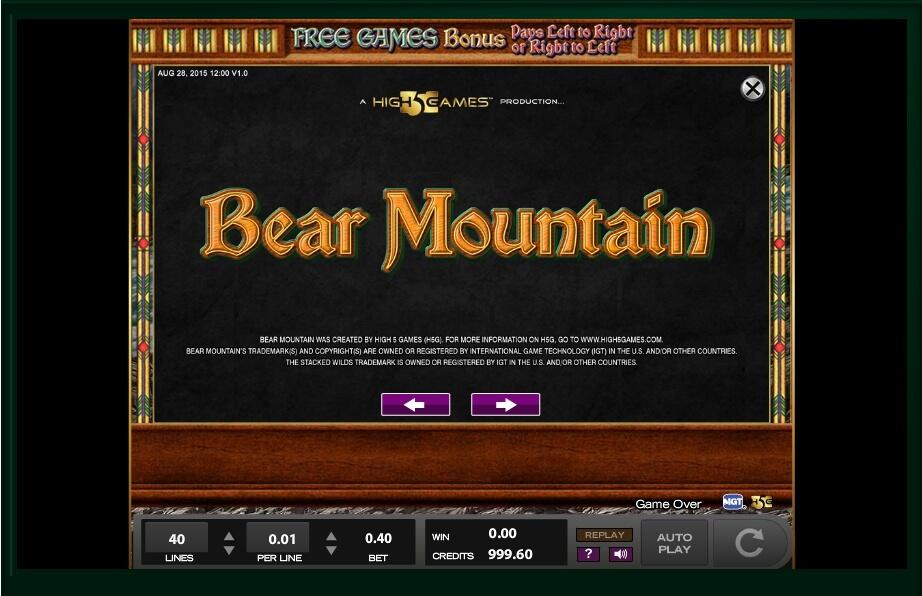 Bear Mountain Machine