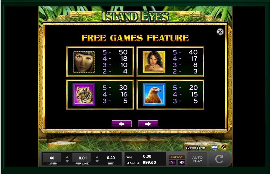 Island eyes slot machine casino game