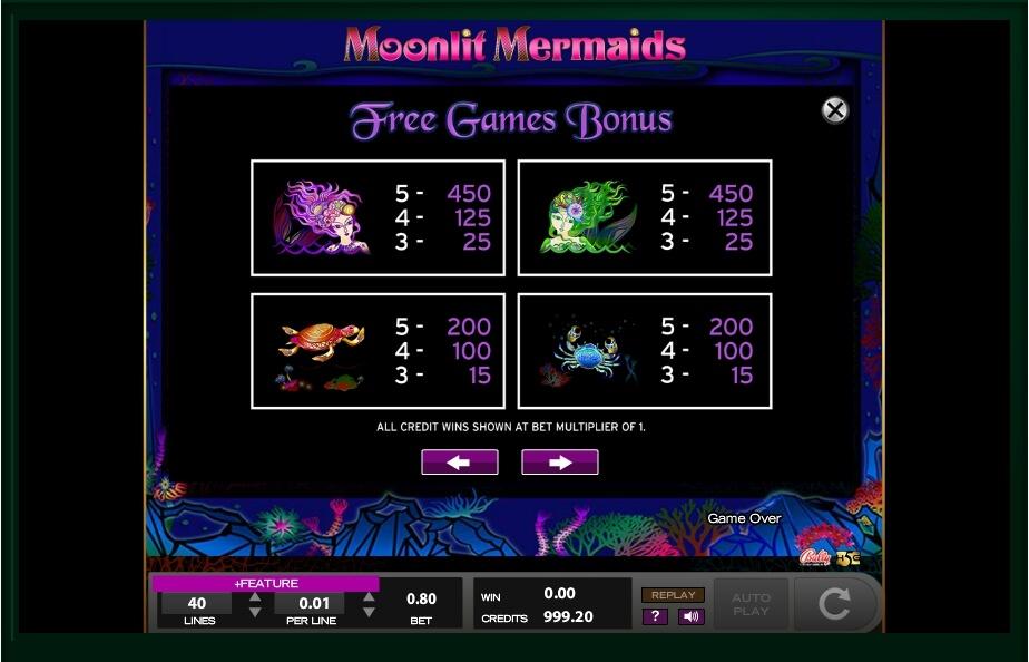 Moonlit Mermaids Slot Machine
