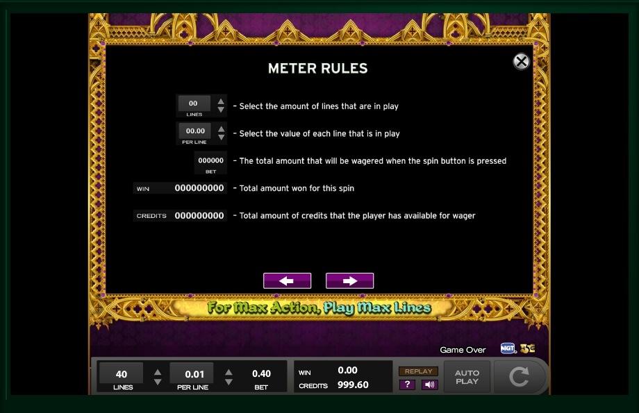 Queen Isabella Slot Machine