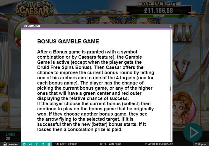 ave caesar slot machine detail image 19