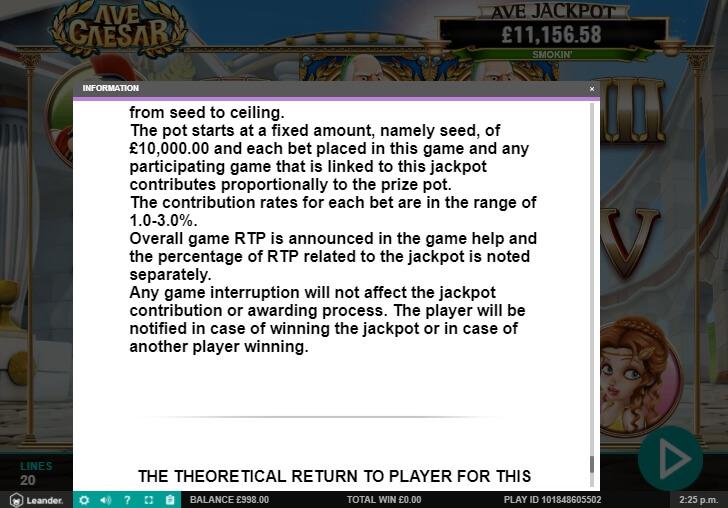 ave caesar slot machine detail image 8