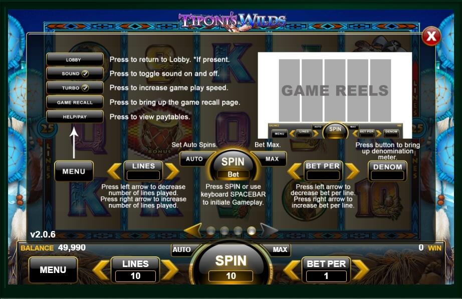 Tiponis Wilds Slot Machine