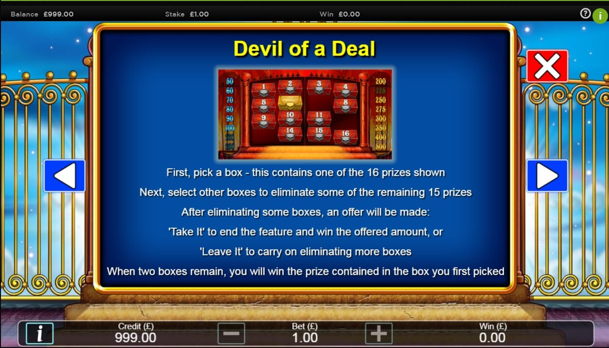Play Heaven and Hell Slot Machine Free with No Download