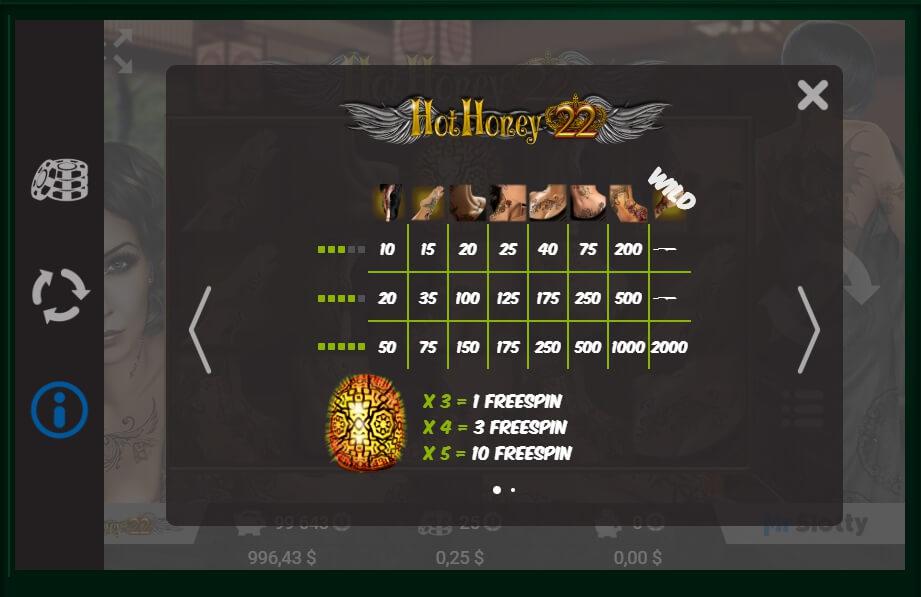 Hot Honey 22 Slot Machine