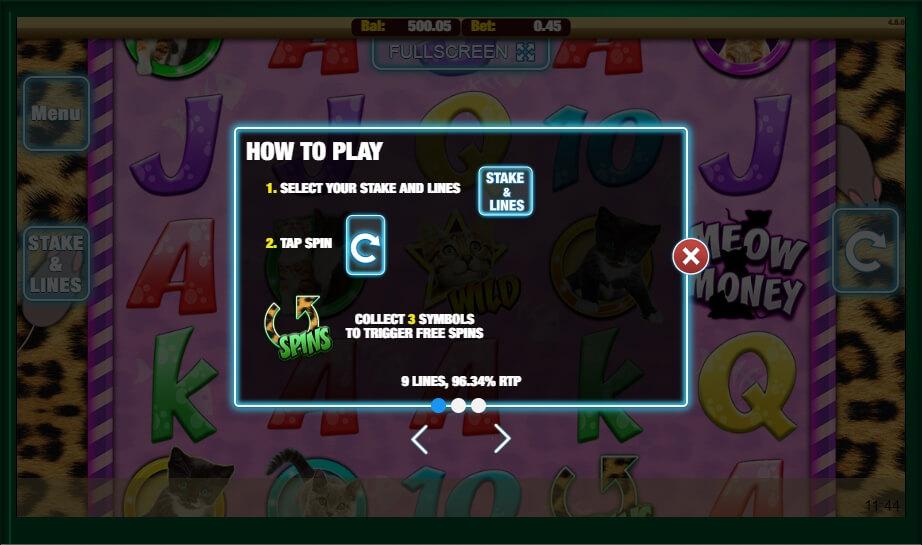 Meow Money Slot Machine