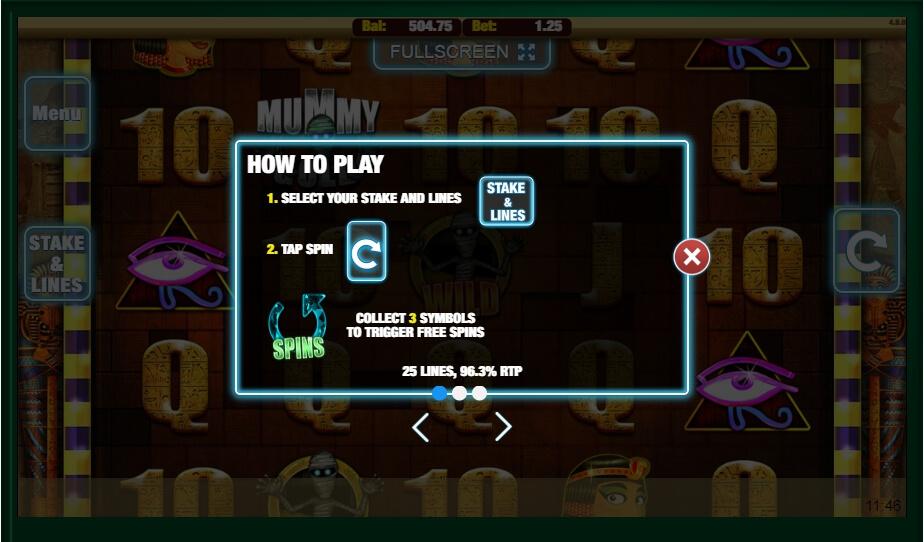 Mummy Money No Download Slot Game