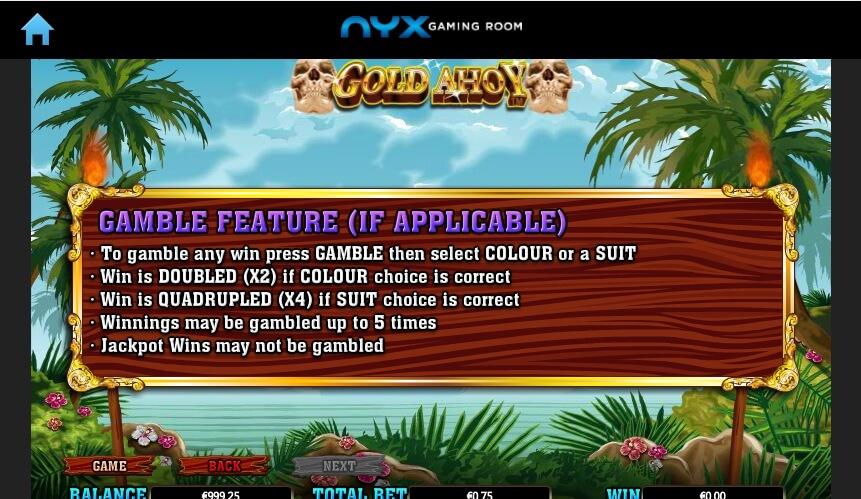 Gold Ahoy Slot Machine