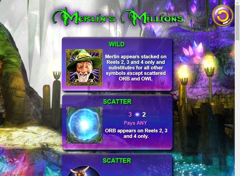 MerlinS Millions Superbet Slots With No Download