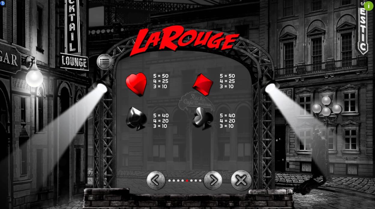 La Rouge Slot Machine