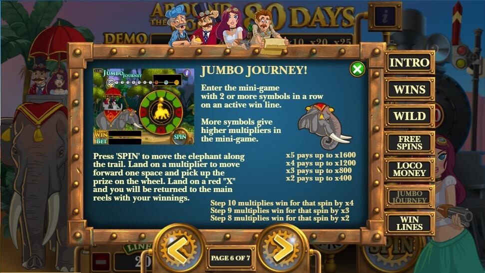 Around the world in 80 days slot machine guns n cash game