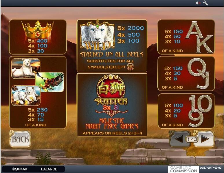 Bai Shi Slot Machine