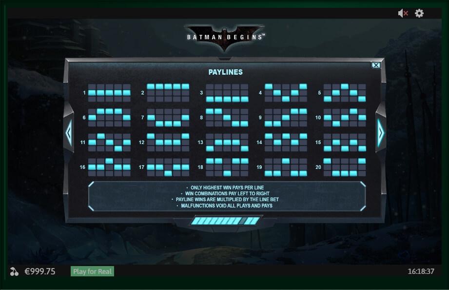 Batman No Download Slot Machine Game Review