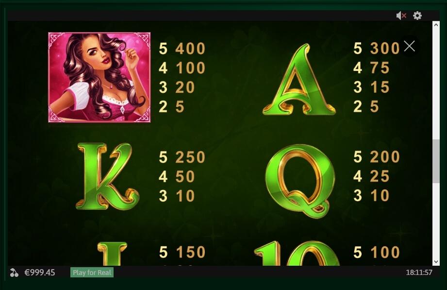 Gaelic Luck Slot Machine