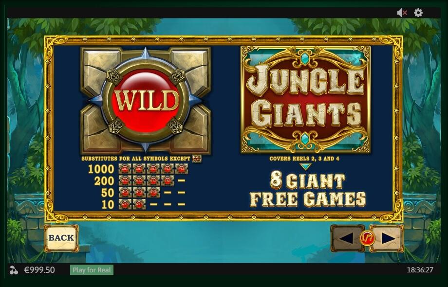Jungle Giants Slot Machine
