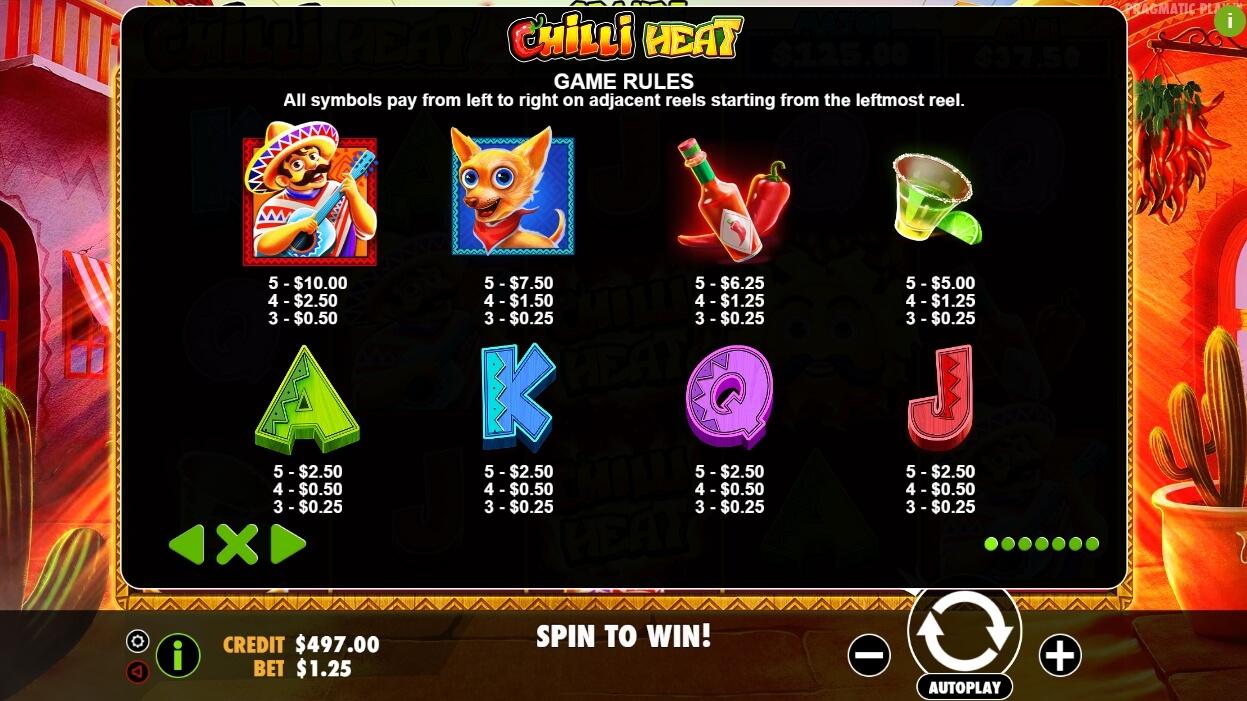 Chilli Heat Slot Machine