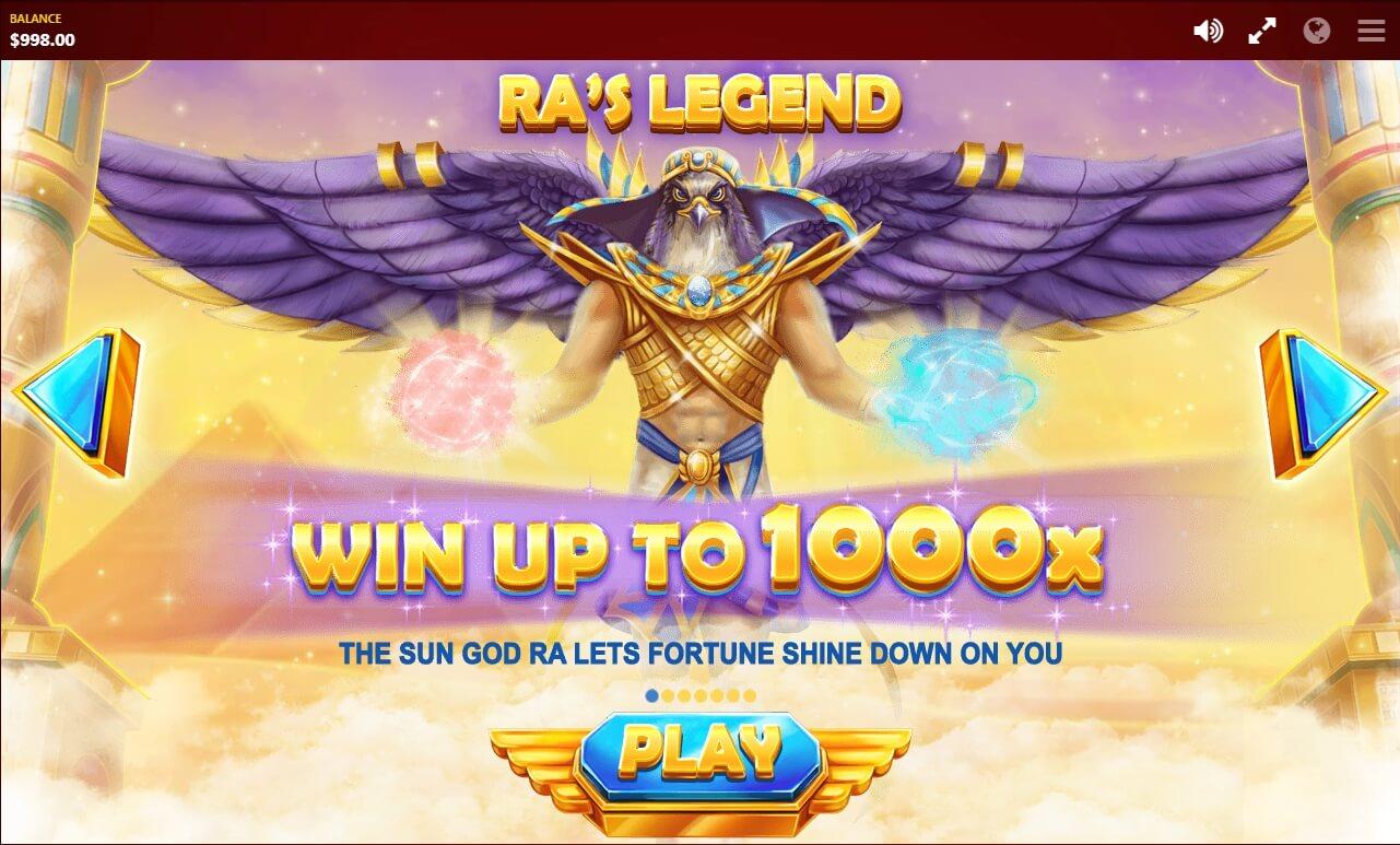 RAs Legend Slot Machine