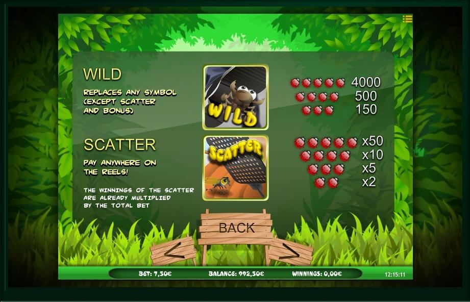 bugs world slot machine detail image 3