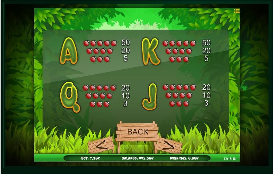 bugs world slot machine detail image 1