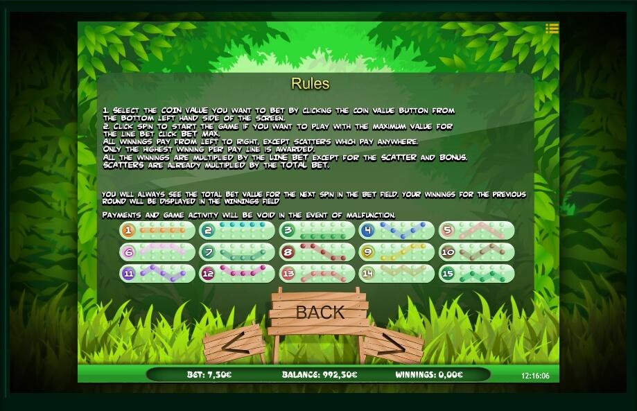 bugs world slot machine detail image 0