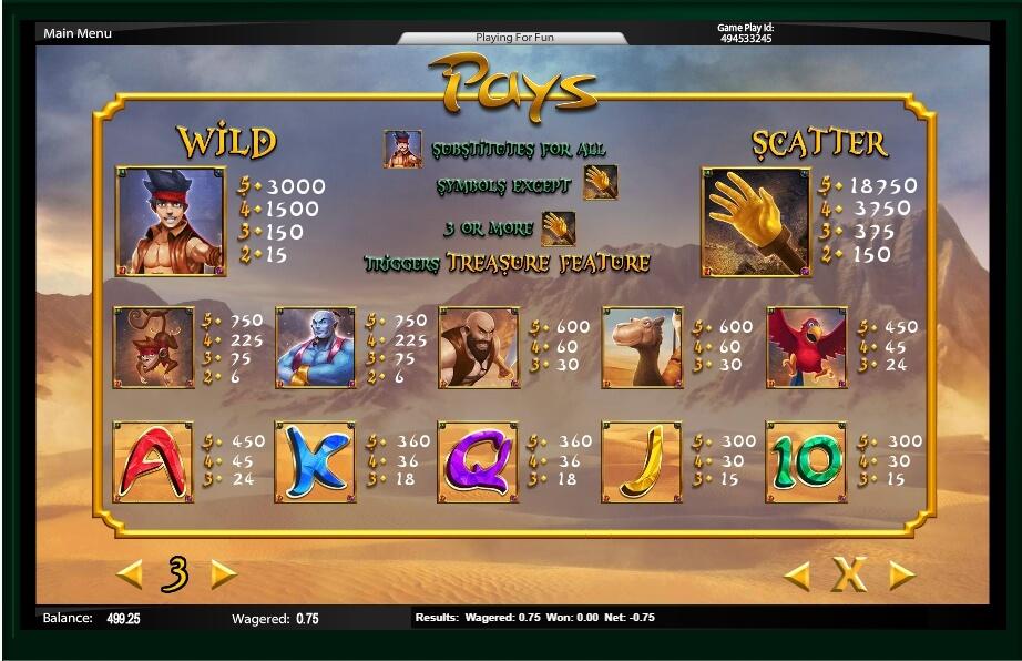 Spiele Aladdin Hand Of Midas - Video Slots Online