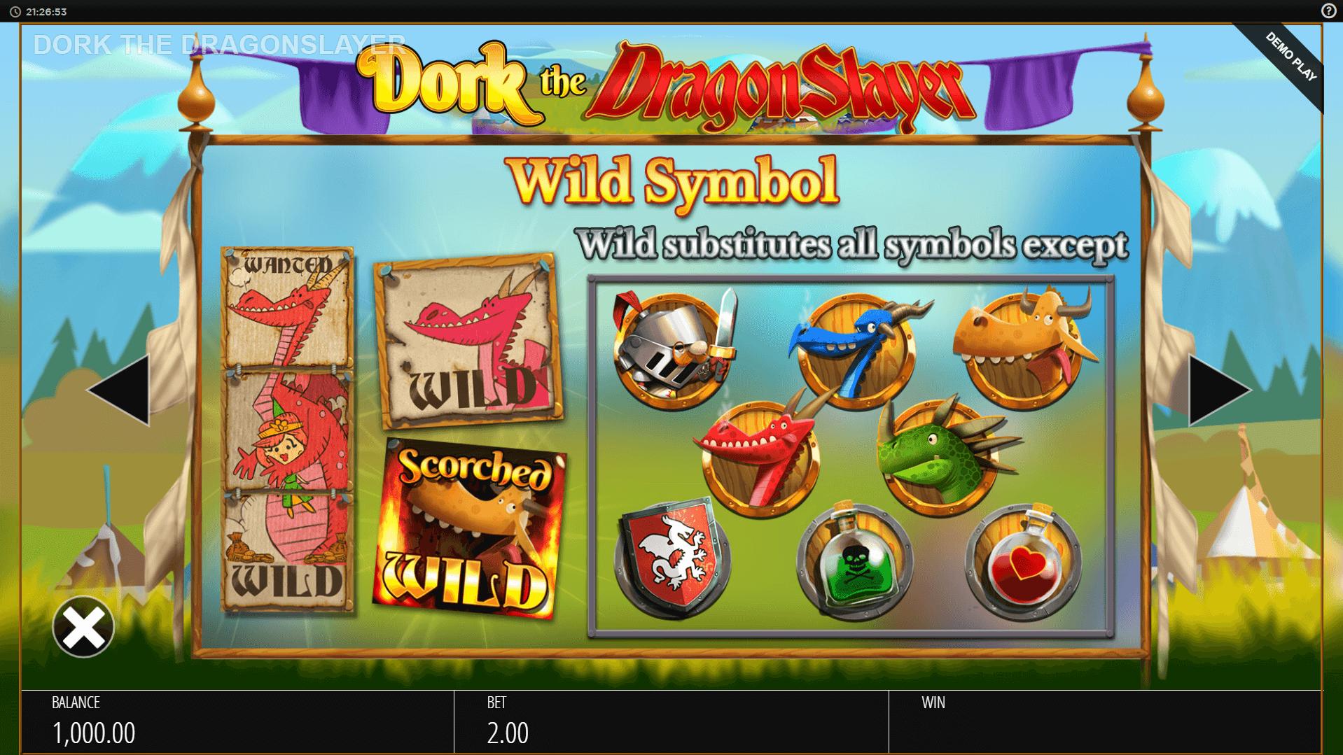 Dragon Slayer Slot Machine