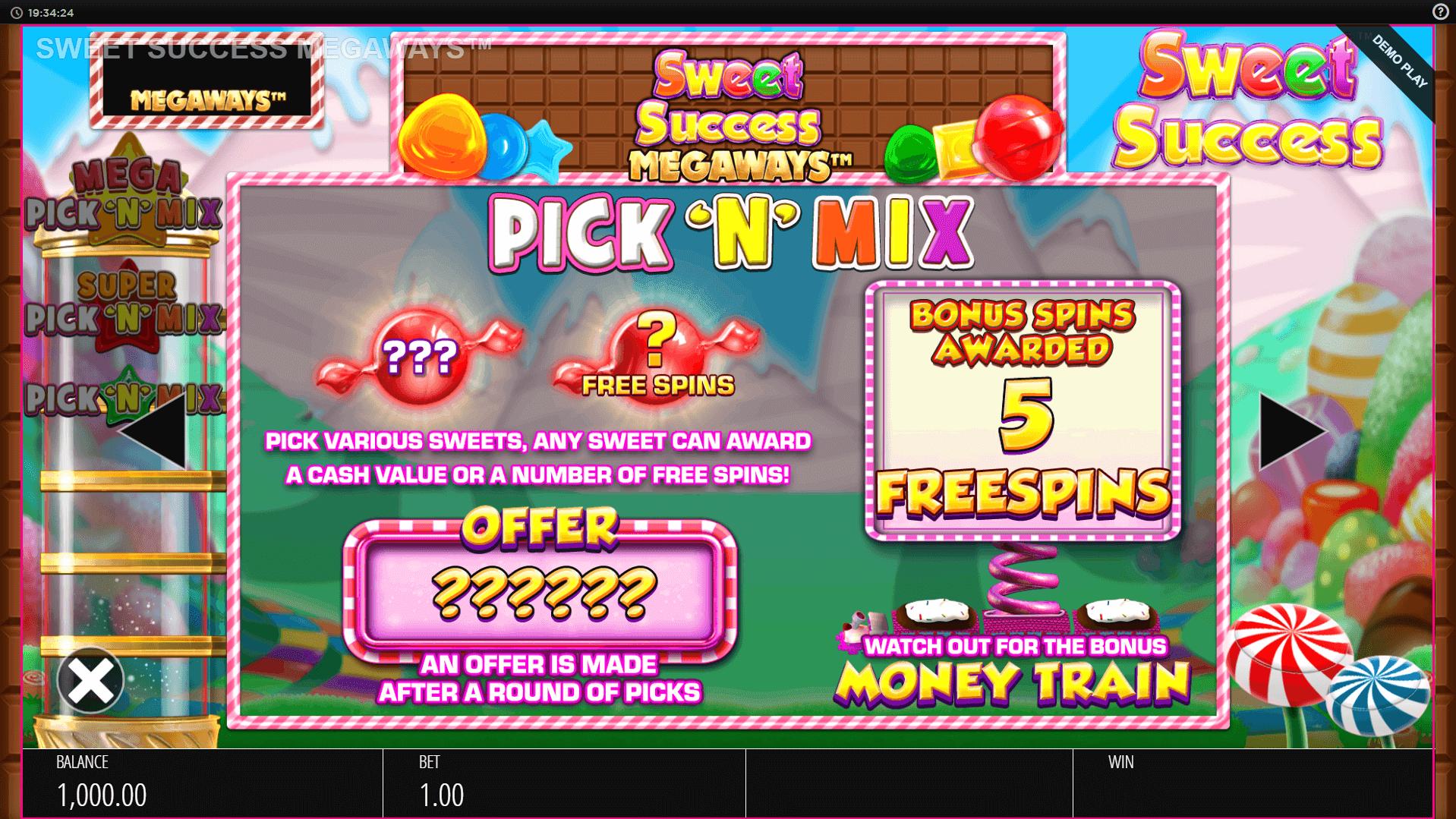 Sweet Success Slot Machine